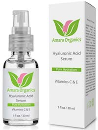 Amara Organics Hyaluronic Acid Serum on Amazon