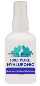 WattsBeauty Anti-Aging Wrinkle Filler оf 100% Pure Hyaluronic Acid on Amazon