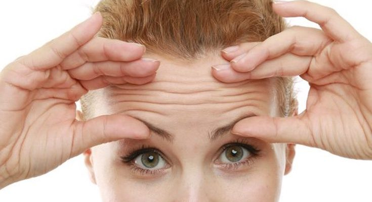Reduce Forehead Frown Lines Naturally